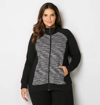 Avenue Quilted Spacedye Active Jacket
