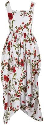 Alexander McQueen Printed maxi dress
