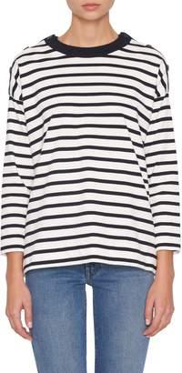 Loro Piana Milos Striped Crewneck Sweater