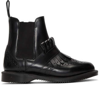 Dr. Martens Black Tina Ankle Boots