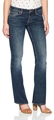 Denim Bloom Women's Low Rise Slim Bootcut Jean 31X35