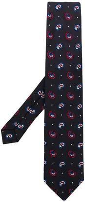 Etro printed design tie