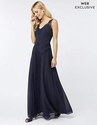 Monsoon Cora Lace Maxi Dress