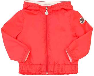 Moncler Poema Hooded Nylon Jacket