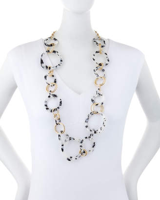 "Fragments for Neiman Marcus Long Multilink Necklace, 32""L"