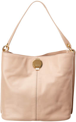 Karen Millen Disc Fastening Leather Sling Bag