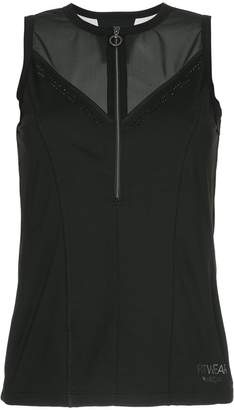Marc Cain zip front sports top
