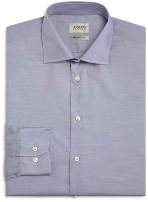 Armani Collezioni Fine Stripe Classic Fit Dress Shirt