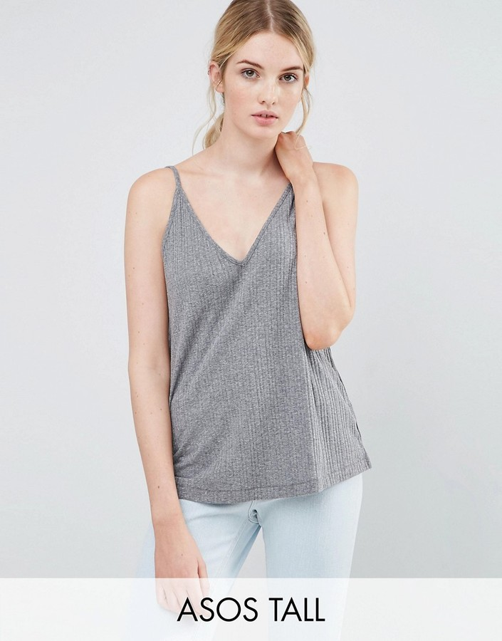 ASOS Tall ASOS TALL V Front and Back Cami Top