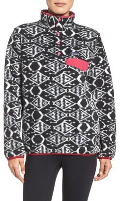 Women's Patagonia 'Synchilla' Fleece Pullover $99 thestylecure.com