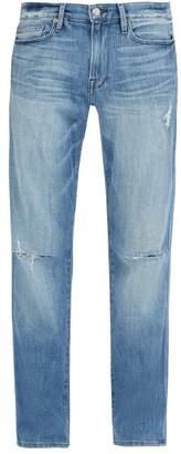 Frame L'homme Slim Leg Jeans - Mens - Blue