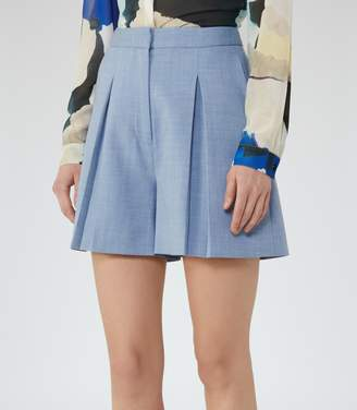 Reiss Miller Short Pleated Culotte Shorts