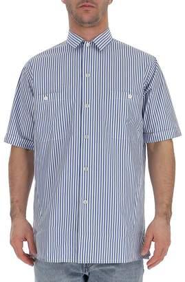 Golden Goose Striped Short Sleeve Shirt
