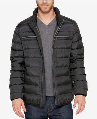 Cole Haan Men's Quilted Zip-Front Jacket