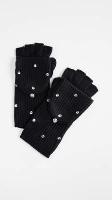 Kate Spade Bedazzled Pop Top Gloves