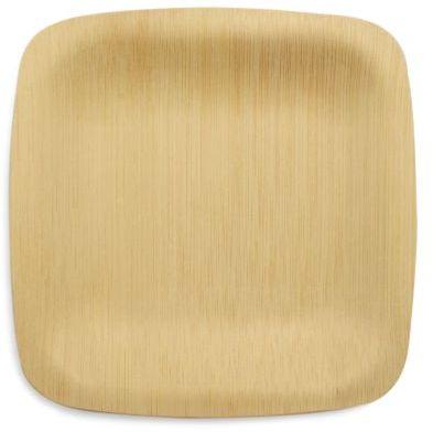 Sur La Table Bambu Veneerware© Bamboo Disposable Plates, Set of 8