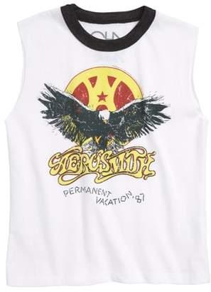 Chaser Aerosmith Permanent Vacation Sleeveless T-Shirt