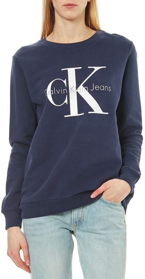 Crew - Sweatshirt - marineblau