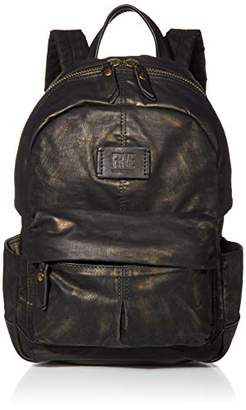 Frye Scout Waxed Canvas Small Backpack
