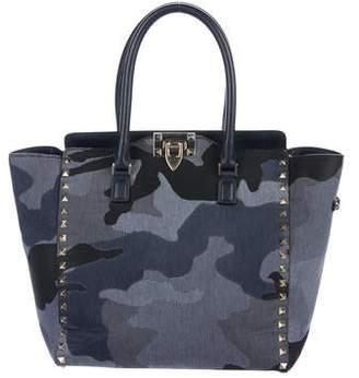 61ff6253e0a Valentino - Rockstud Double Handle Bag - ShopStyle