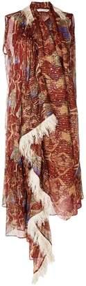 Tsumori Chisato embroidered asymmetric dress
