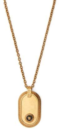 Versace Medusa Head Pendant Necklace - Mens - Gold