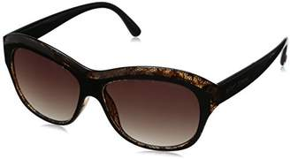 Betsey Johnson Women's Sophia Polarized Square Sunglasses