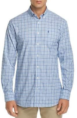 Monroe Johnnie-O Prep-Performance Plaid Regular Fit Button-Down Shirt