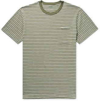 J.Crew Slim-Fit Striped Cotton-Jersey T-Shirt