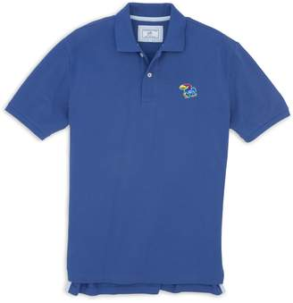 Southern Tide Kansas Jayhawks Pique Polo Shirt