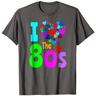 1980s Party Clothes Costume I Love The 80's Shirt Birthday