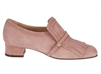 L'Autre Chose Fringed Flap Loafers