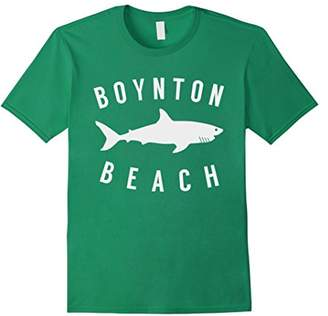 Boynton Beach Florida T Shirt Shark FL Souvenirs
