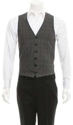 Paul SmithPS by Paul Smith Adjustable Wool Vest