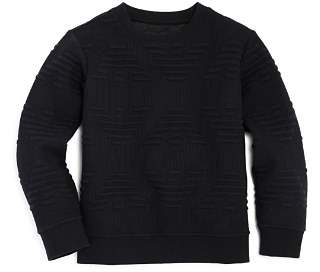 Armani Junior Boys' Raised-Logo Sweater - Little Kid, Big Kid