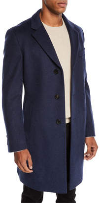BOSS Men's Slim-Fit Wool Top Coat