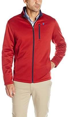 Izod Men's Spectator Solid Fleece Jacket