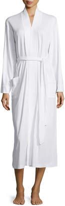 P Jamas Butterknit Long Wrap Robe