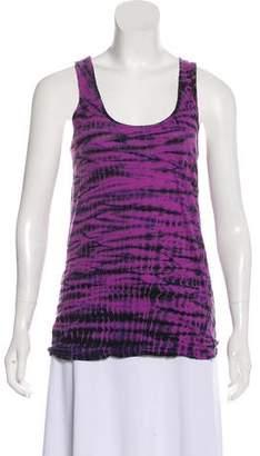 Proenza Schouler Sleeveless Tie-Dye Top