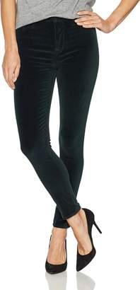 Hudson Jeans Women's Barbara High Waist Super Skinny Ankle Velvet