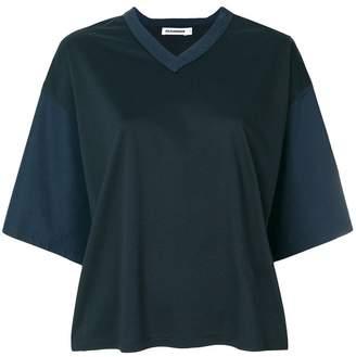Jil Sander loose V-neck T-shirt