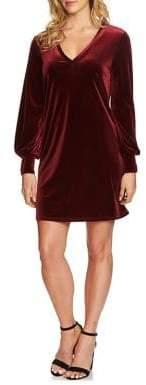 1 STATE 1.STATE Classic Velvet Dress