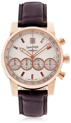 Co Eberhard & Chrono 4 Rose Gold Watch