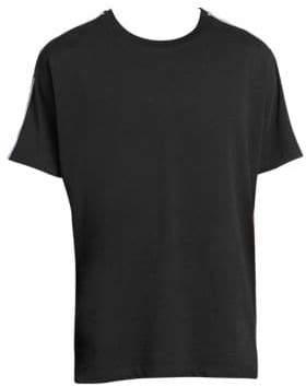 Givenchy Shoulder-Tape Logo T-Shirt