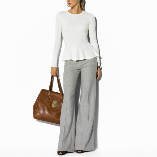 Ralph Lauren Black Label Clarissa Flannel Pant