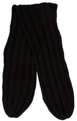 Lanvin Textured Knit Scarf