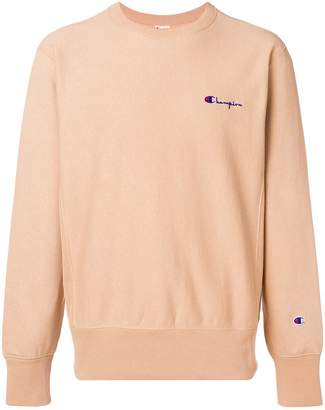 Champion small script sweatshirt