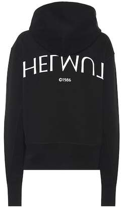 Helmut Lang Printed cotton sweater