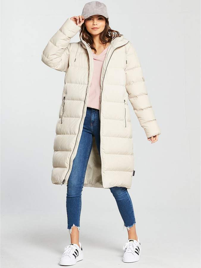 Crystal Palace Down Coat - Beige