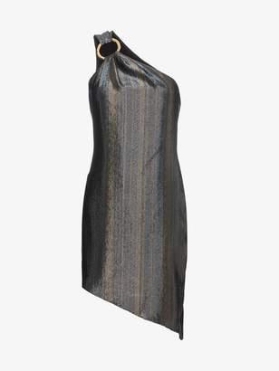Ophelia Haney Silk Asymmetric Dress